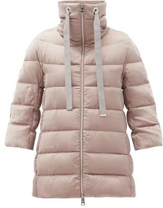Herno Funnel-neck Down Jacket - Light Pink