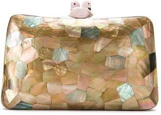 Serpui Marie Mother Of Pearl Clutch