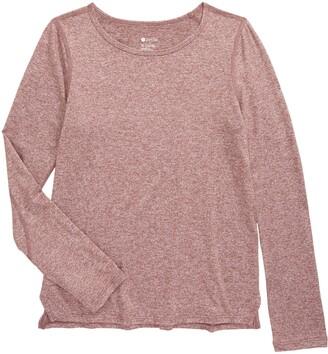 Zella Kids' Liana Restore Soft Long Sleeve Shirt