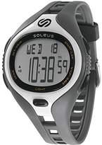Soleus Large Dash Running Smart Watch - Grey/White
