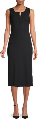 BCBGeneration Sleeveless Midi Dress