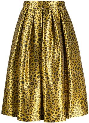 Ultràchic Animal Print Skirt