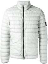 Stone Island high neck down jacket - men - Feather Down/Polyamide/Polyurethane Resin - L