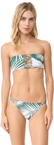 Mikoh Sunset Triple Loop Bandeau Bikini Top