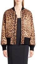 Dolce & Gabbana Women's Leopard Print Bomber