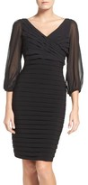 Adrianna Papell Women's Stretch Sheath Dress