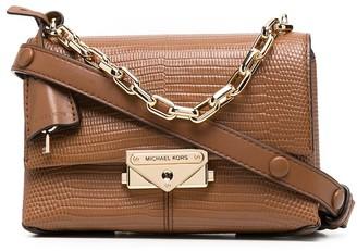Michael Kors Collection Chain-Strap Mini Leather Bag