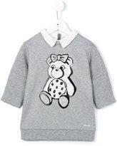 Simonetta bear print dress