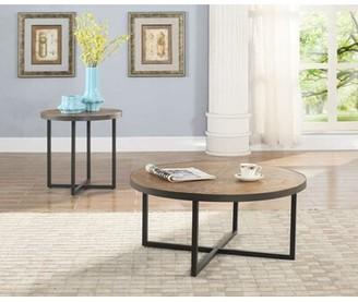 Three Posts Dillwyn 2 Piece Coffee Table Set