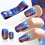 DZT1968 4100CM Design Nail Art Foil Stickers Transfer Decal Tips Manicure beauty nail (C)