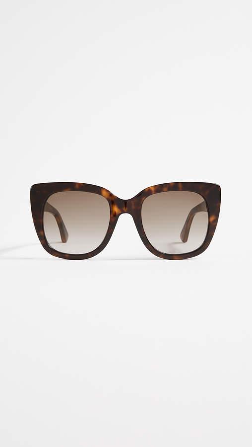 db2823a73baf Gucci Havana Sunglasses - ShopStyle