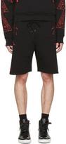 Marcelo Burlon County of Milan Black Lamborghini Lounge Shorts