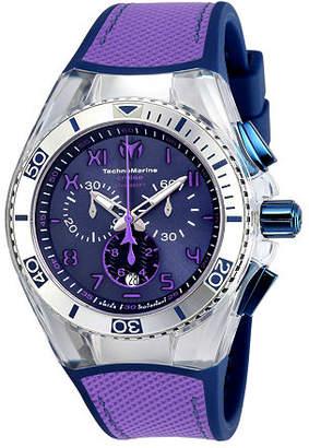Technomarine Techno Marine Mens Blue Strap Watch-Tm-115013 Family