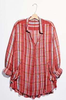 FP One Waverly Plaid Tunic