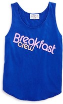 Wildfox Couture Girls' Breakfast Crew Tank - Big Kid