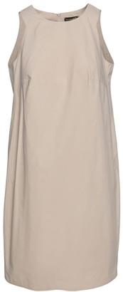 Conquista Sand Colour Cotton Sack Dress