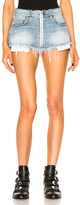 Unravel Full Zip Denim Shorts