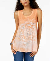 Style&Co. Style & Co Graphic Swing Tank Top, Created for Macy's