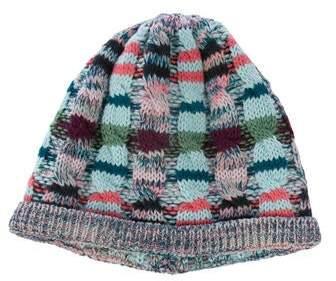 7bf68e5b148de9 Blue Knit Hat - ShopStyle