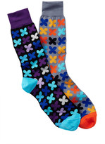 Jared Lang Cross Crew Sock - Pack of 2