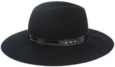 Magid Black & Gold Floppy Hat