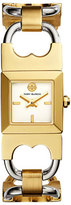 Tory Burch Double T Two-Tone Link Bracelet Watch