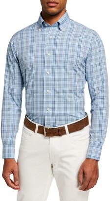Peter Millar Men's Jarrett Natural Touch Sport Shirt