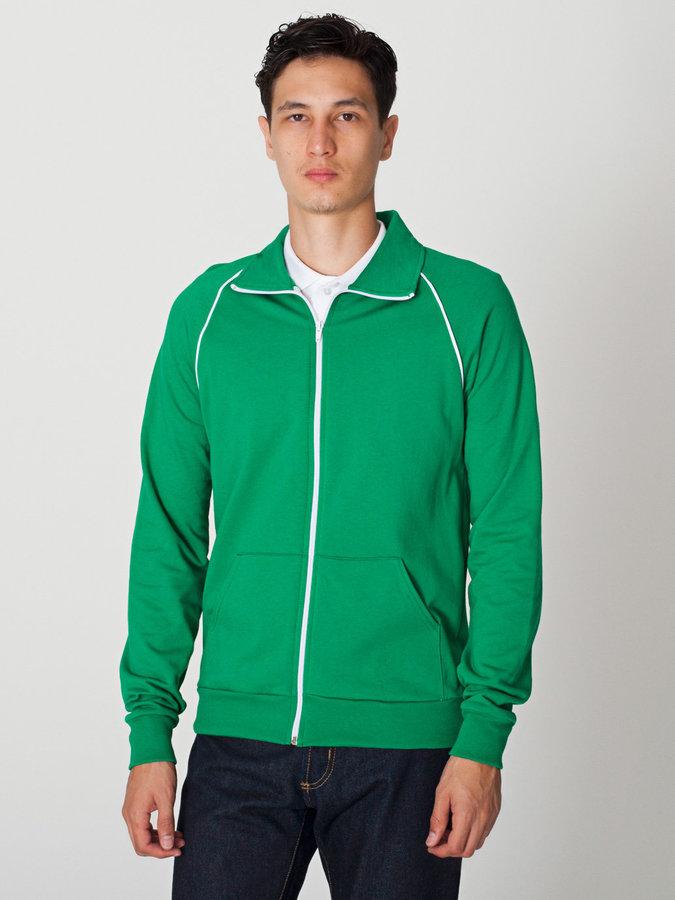 American Apparel California Fleece Track Jacket