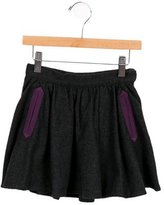 Little Marc Jacobs Girls' Herringbone A-Line Skirt