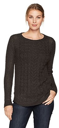 Jason Maxwell Women's Cable Pullover