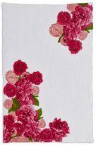 """Sur La Table Floral Watercolor Linen Kitchen Towel, 28"""" x 18"""""""