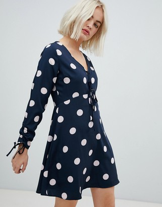 Pepe Jeans Clea polka dot dress