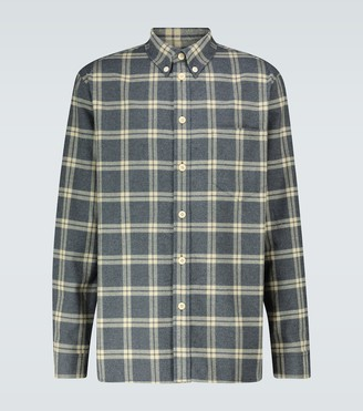 Nanushka Long-sleeved flannel shirt