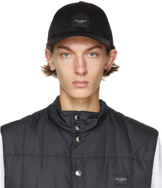 Dolce & Gabbana Black Logo Baseball Cap