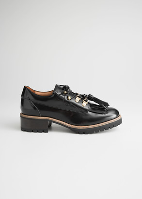 And other stories Tassel Lace Up Oxfords