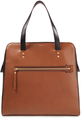 Joseph Ryder Two-tone Leather Tote