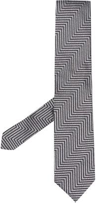 Tom Ford Zigzag Silk Tie