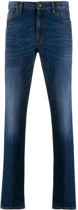 Ermenegildo Zegna High-Rise Slim Fit Jeans