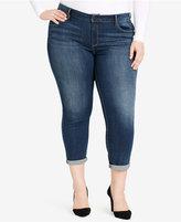 Jessica Simpson Trendy Plus Size Skinny Ankle Jeans