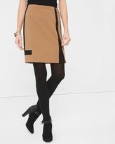 White House Black Market Colorblock Skirt