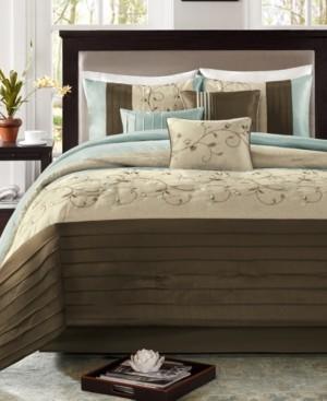 Madison Home USA Serene 7-Pc. California King Comforter Set Bedding