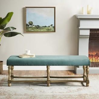 Martha Stewart Searles Upholstered Bench