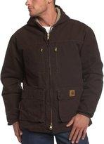 Carhartt Men's Big & Tall Jackson Coat Sherpa Lined Sandstone C95