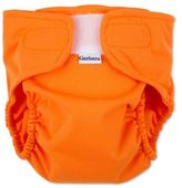 Gerber Size Medium 2-Piece All-in-One Reusable Diaper with Insert Set in Orange
