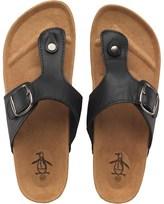 Original Penguin Mens Peak Sandals Black