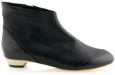 GASPARD YURKIEVICH - Leather flat ankle boots