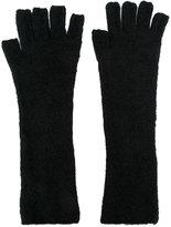 Isabel Benenato fingerless gloves