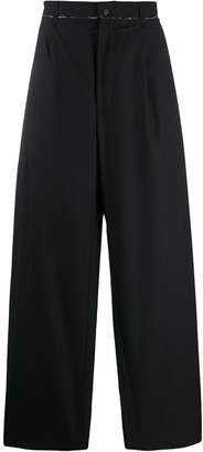Camiel Fortgens high-waisted wide leg trousers