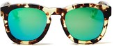 Wildfox Couture Classic Fox Wayfarer Mirror Sunglasses, 52mm