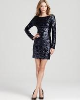 Aidan Mattox Sequin Dress - V Back